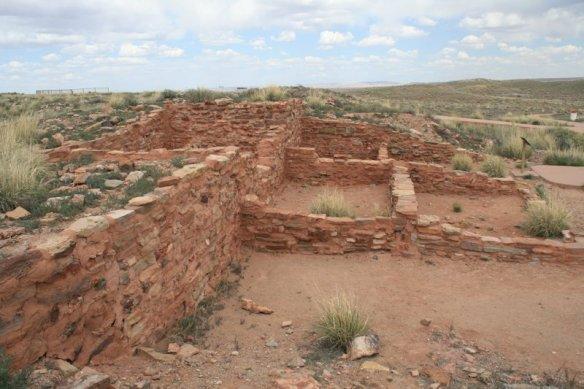 A section of the Homolovi Ruins