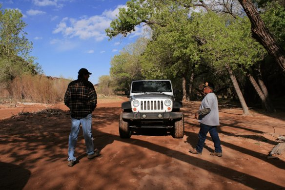 Terrill takes us into the canyon for a 3-hour tour in his jeep.