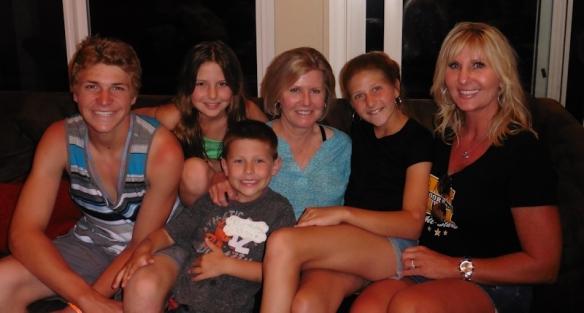 Garrett, Kailyn, Brady, Me, Paige, Kimberly
