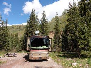 Cayton NFS Campsite, Rico, Colorado