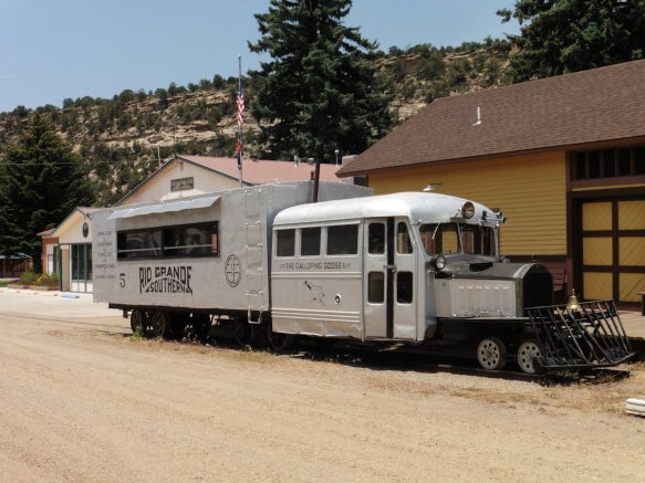 Galloping Goose Railroad Museum in Dolores