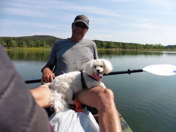 Kayak on McPhee Reservoir 2