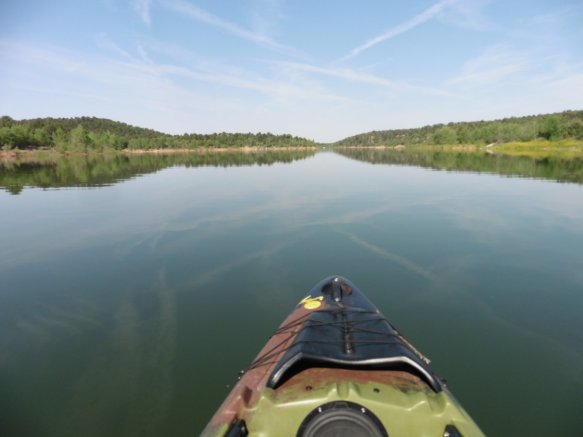 Kayak on McPhee Reservoir 4