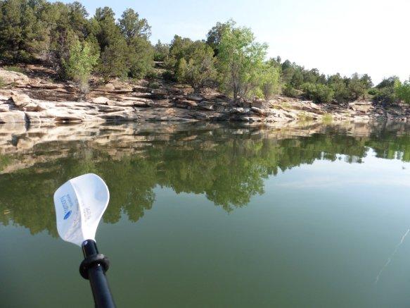 Kayak on McPhee Reservoir 6