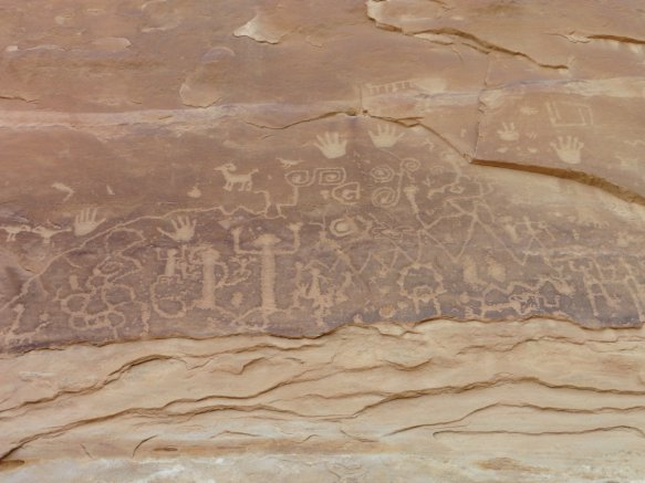 We hiked the 3-mile Petroglyph Point Trail