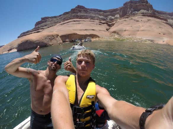 Garrett and Sean with the GoPro