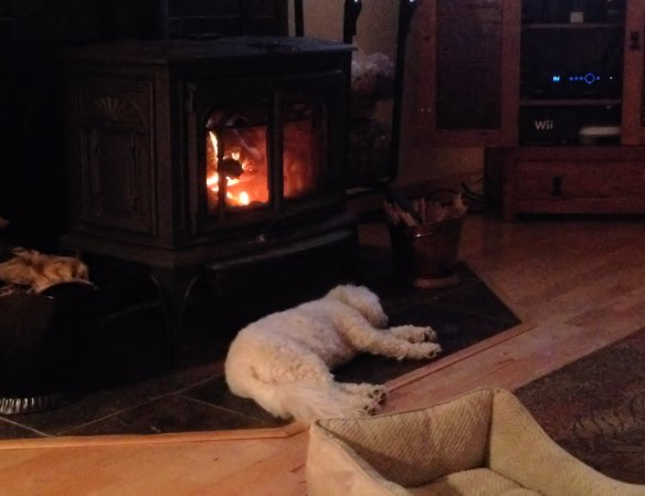 7 Lucy 6 - By the fireplace